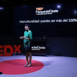 "Lisa Invited To Give A TEDx Talk Titled ""Interculturalism: You Could Be More Than 100%"" In Madrid"