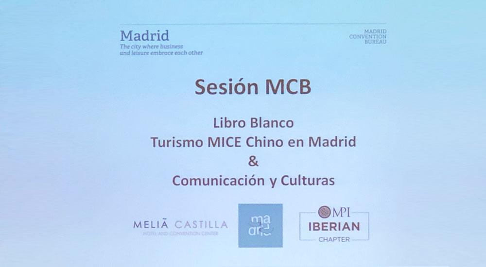 LW Advisers presentó el Libro Blanco sobre el turismo emisor MICE chino a los asociados de Madrid Convention Bureau (MCB)