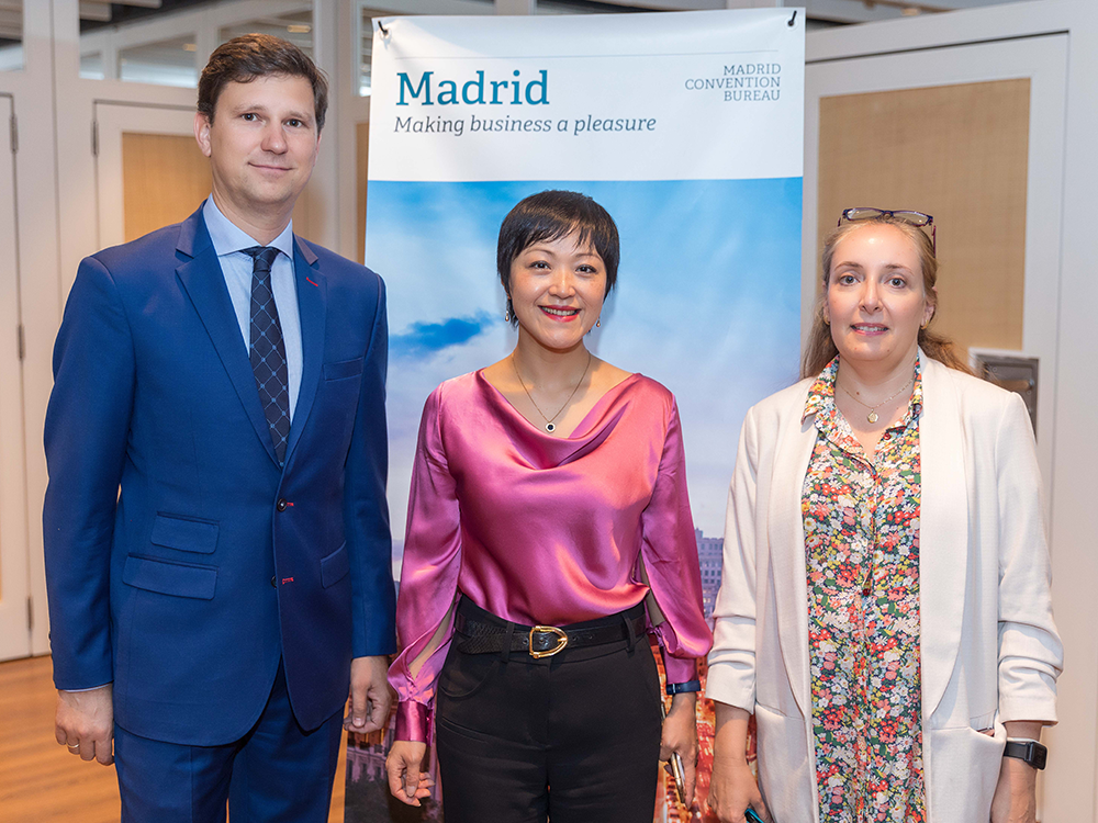 Link The World Advisers Organized A Press Event For Its Institutional Client Madrid Convention Bureau