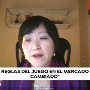 Lisa Wang, Interviewed By Spanish TV Channel On Special COVID-19 Program