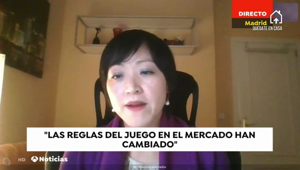 Lisa Wang En Antena 3